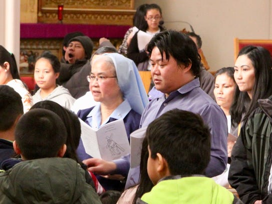 Sister Alice Thepouthay, a pastoral associate from