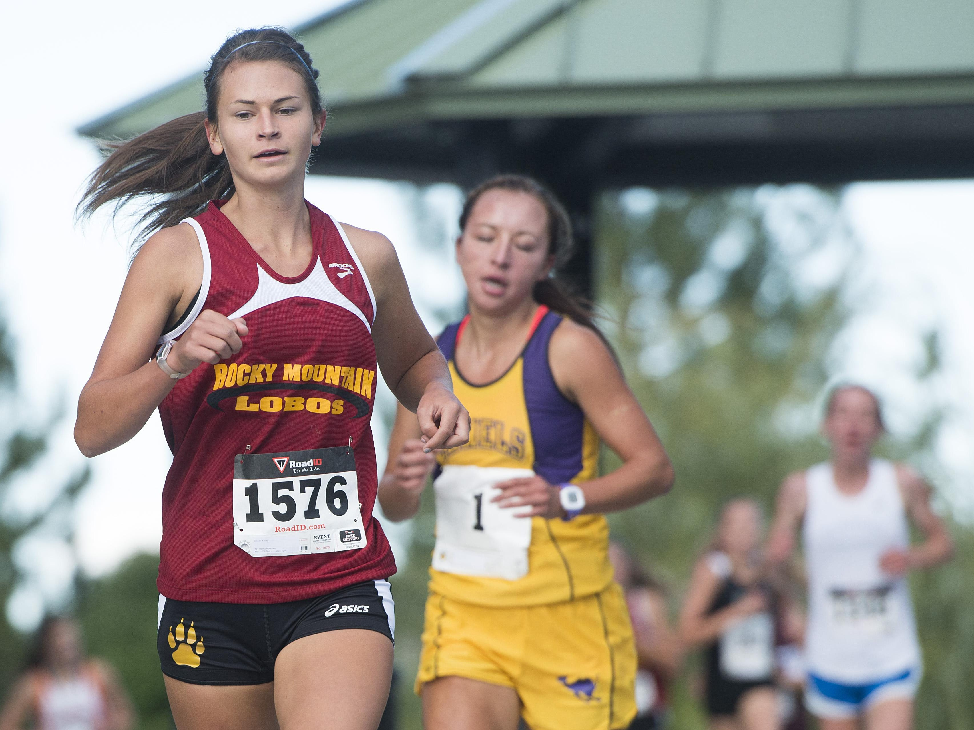 Rocky Mountain High School cross country runner Kacey Doner qualified for Saturday's state meet after missing out last season due to injury.