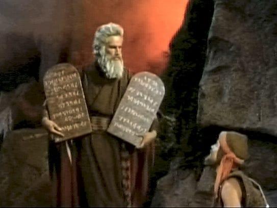 Charlton Heston in 'The Ten Commandments.'