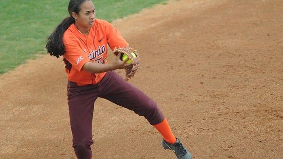 Lauren Gaskill is a standout shortstop for Virginia Tech