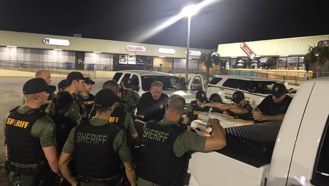 Martin County Sheriff's officials help in Florida Keys after Hurricane Irma