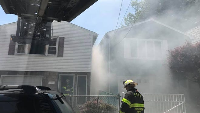 Perth Amboy Sutton Street house fires.