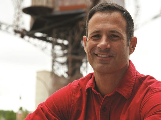 Dogfish Head Craft Brewery founder Sam Calagione is seen outside of the Milton brewery.