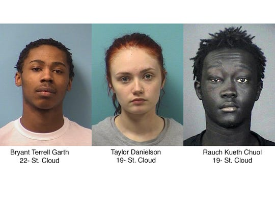Three people were arrested in connection with a series