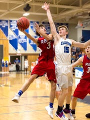 The Reno boys rolled over Carson, 55-28, on Thursday,
