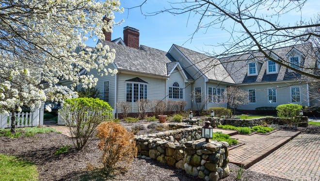 The traditional Colonial home at 7317 Hunt Club Drive in Zionsville was built in 2000. It's listed for $2.5 million.