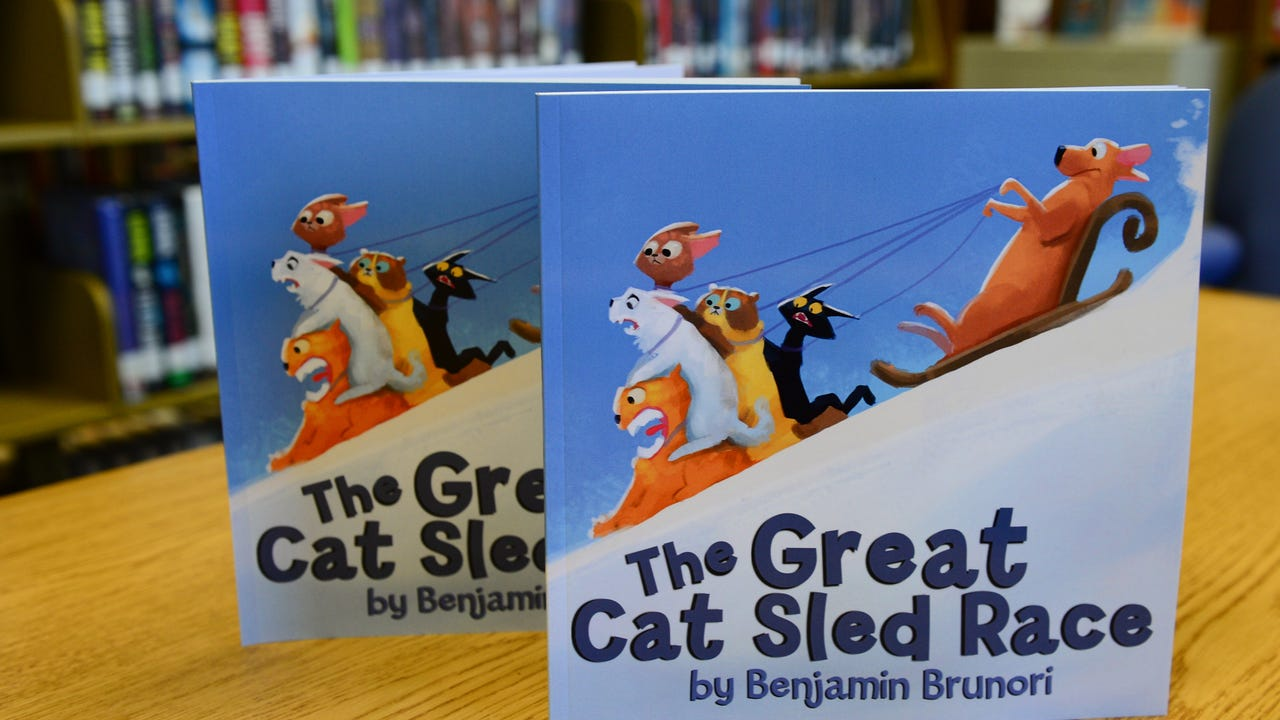 """Benjamin Brunori talks about his newly published book """"The Great Cat Sled Race."""""""