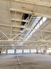 Interior of the Sav-O Supply building.