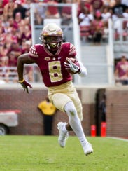 Florida State junior wide receiver Nyqwan Murray (8)