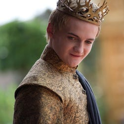 Jack Gleeson as Joffrey on 'Game of Thrones.