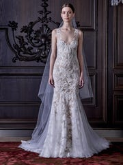 Provided by Monique Lhuillier. Some brides are stealing