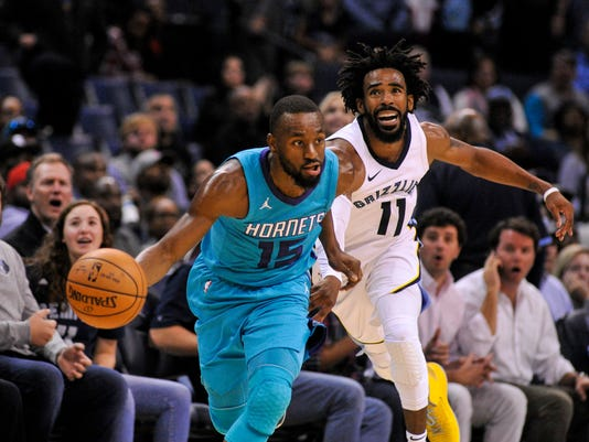 NBA: Charlotte Hornets at Memphis Grizzlies
