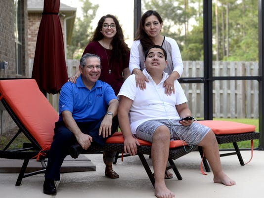 Panaloza family is this year's chair family for Autism Walks