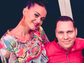 "Tiesto snaps a photo with Katy Perry and writes, ""Super"