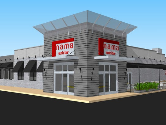 A rendition of Nama Restaurant on Peters Road slated