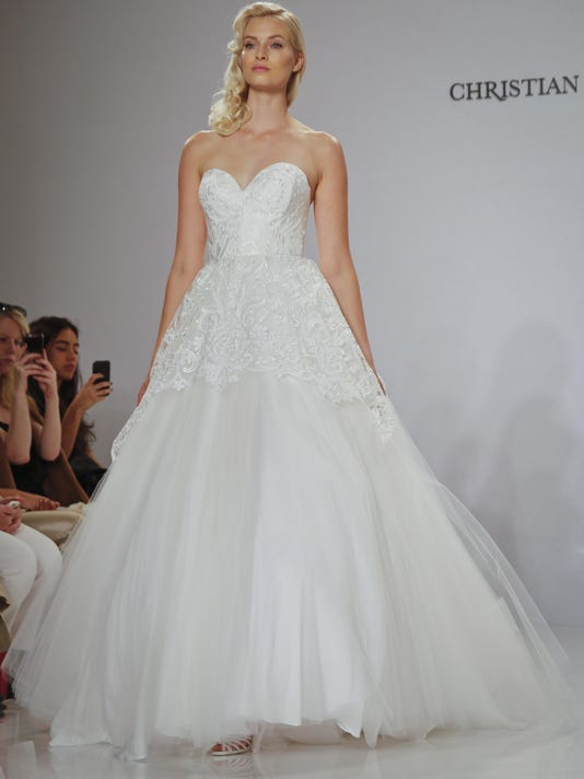 Bridal Fashion Week: Fairytale gowns to feathers
