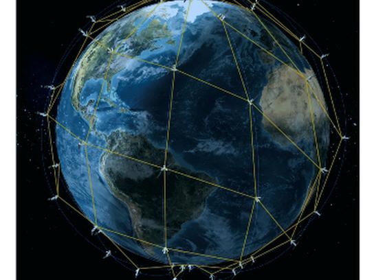 Iridium Next Satellite Constellation