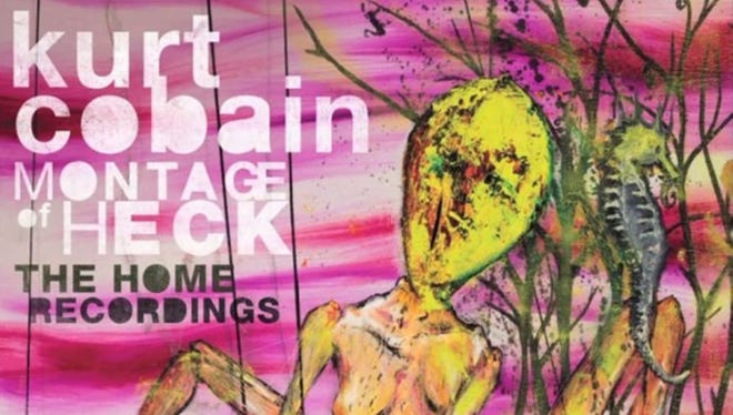 """""""Montage of Heck: The Home Recordings"""" by Kurt Cobain."""