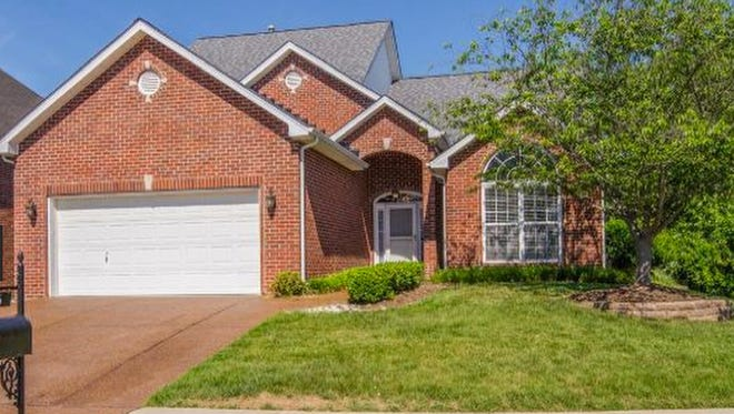 This Brentwood home, at 6936 Scarlet Ridge Drive, was built in 2003 and has 2,625 square feet.