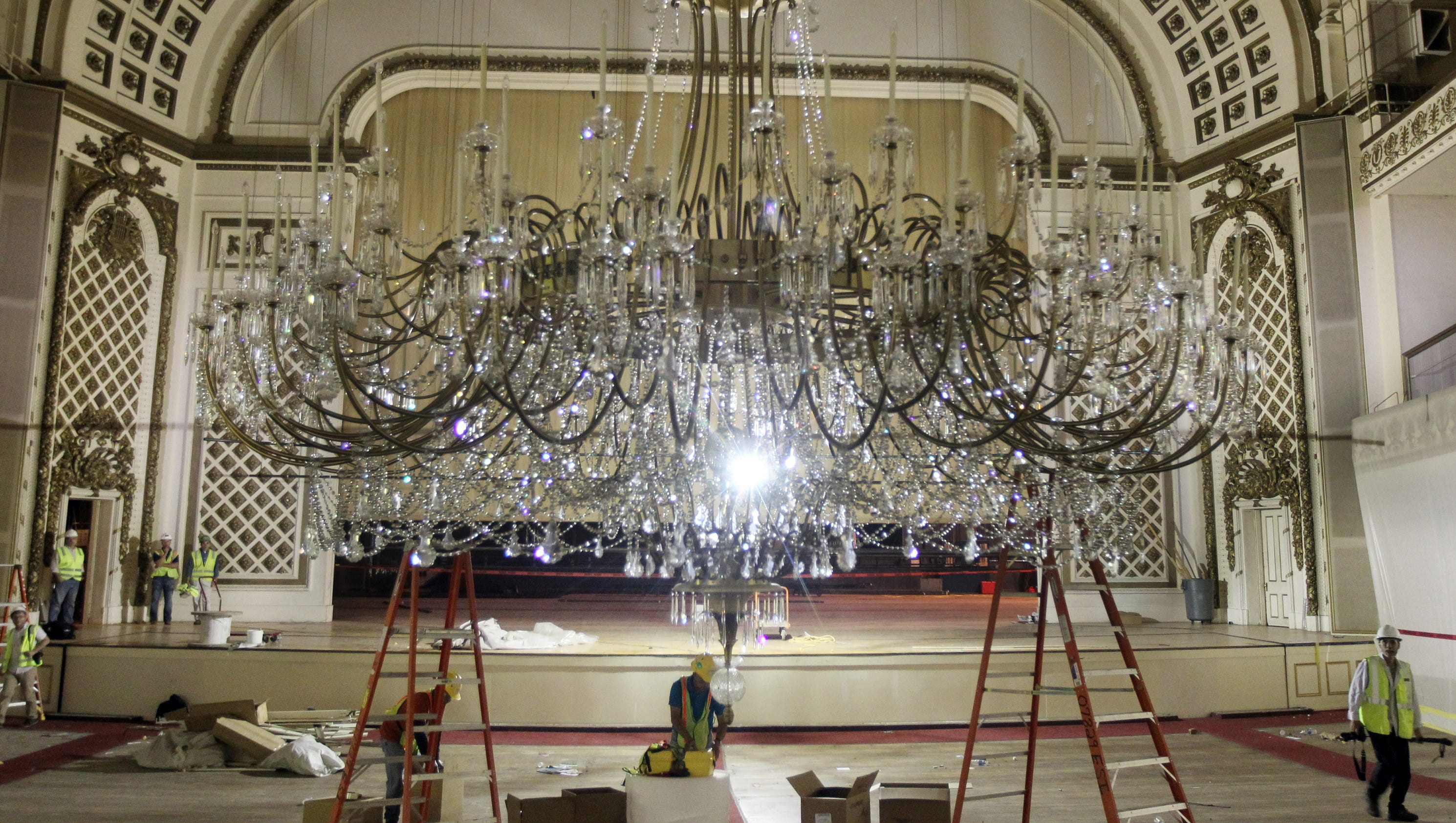 Chandelier spectacle may return after music hall renovation aloadofball Images