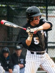 Bishop Eustace sophomore Matt Orlando takes a cut during Saturday's game against Malvern Prep. He went 2-for-3 in the final.