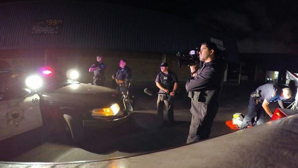"""The """"Cops"""" television show filmed Salinas police for two months before wrapping up filming last week."""