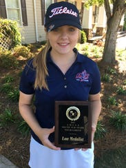 Park Crossing junior Brooke Sansom won the Class 6A