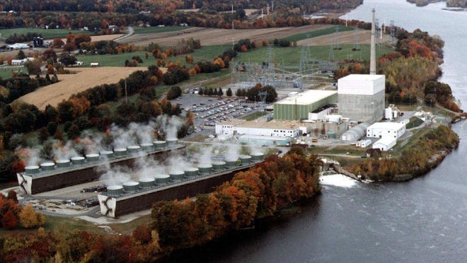 Vermont Yankee nuclear power plant in Vernon.