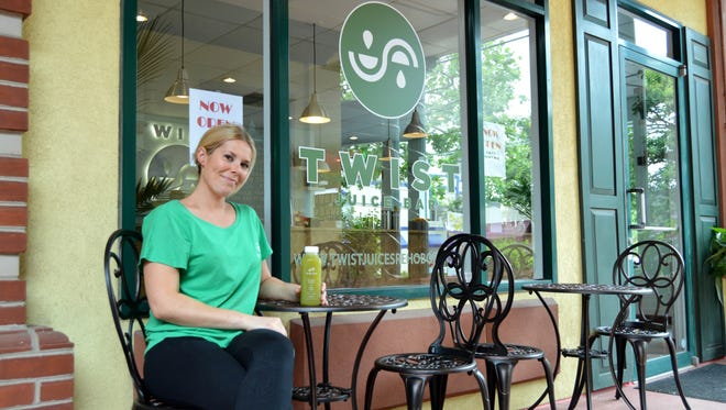Julie Harrigan followed her dreams to open Twist Juice Bar in Rehoboth Beach.