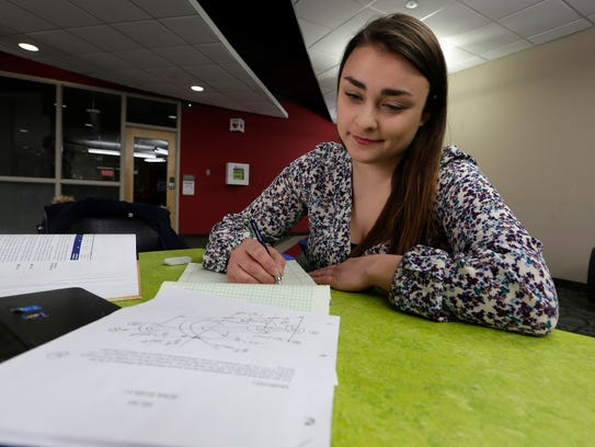 Kathryn Baisley is an engineering student at the Milwaukee