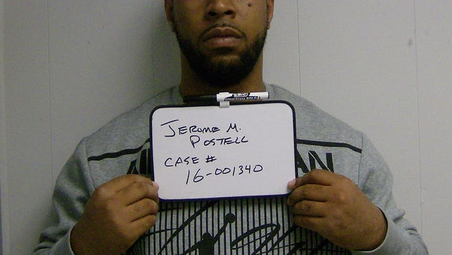 Jerome Postell, 33, of Cliffwood was arrested for possession of alleged marijuana on March 26 in Hackettstown after allegedly stashing a lit joint in his underwear.