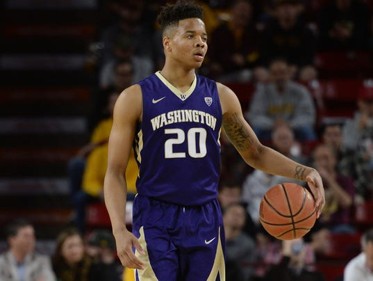 NCAA Basketball: Washington at Arizona State