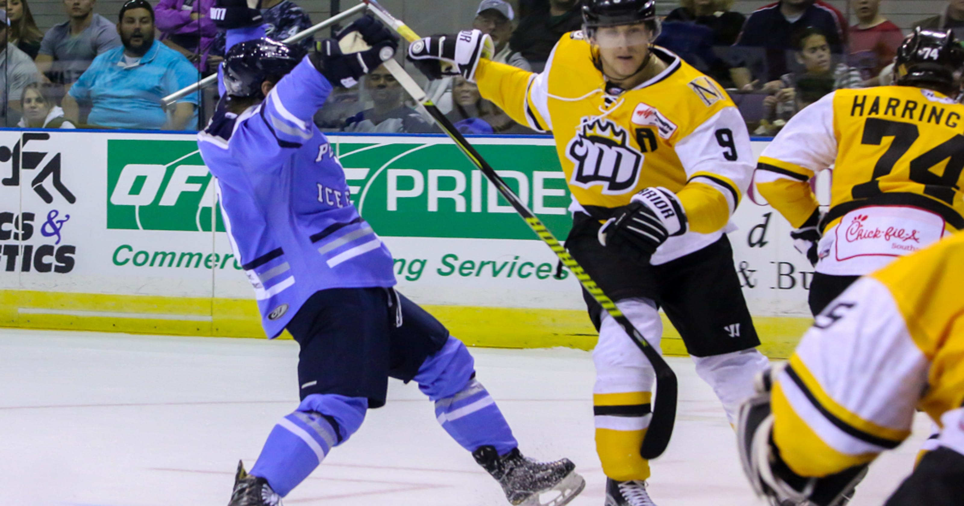 Pensacola Ice Flyers forward Ryan Marcuz welcomes role with new team 151f25ddc