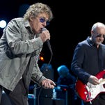 Roger Daltrey (L) and Pete Townshend, singer and guitarist of the British band The Who perform on the stage of the Ziggodome in Amsterdam, on July 5, 2013. AFO PHOTO/ANP PAUL BERGEN        (Photo credit should read PAUL BERGEN/AFP/Getty Images)
