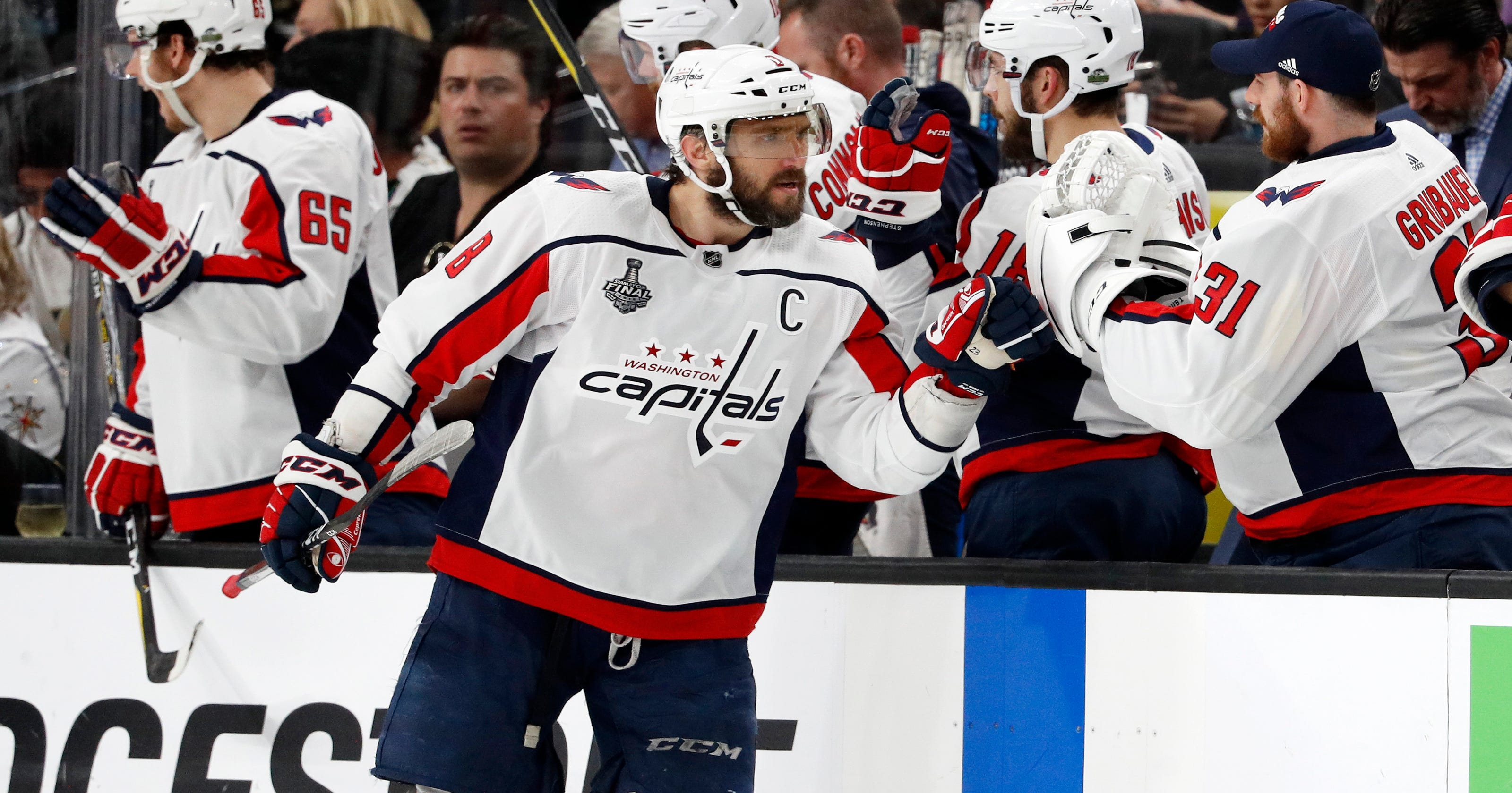 d41e9dc833f Stanley Cup 2018  Alex Ovechkin leads Capitals past Golden Knights