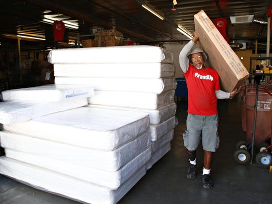 Donald Pruitt, a volunteer at Arizona Helping hands