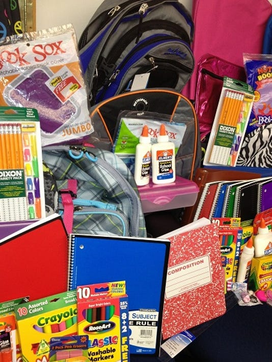 New school supplies sought PHOTO CAPTION