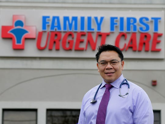 Dr. Richard Mojares, medical director and owner of