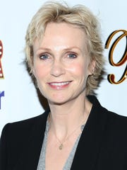 Jane Lynch attends the opening night for the off-Broadway