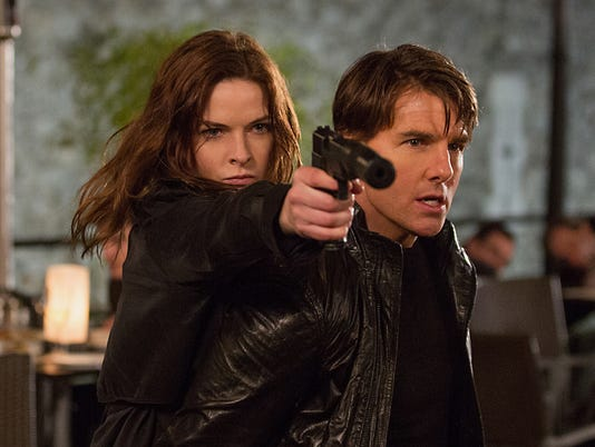 AP FILM REVIEW MISSION IMPOSSIBLE ROGUE NATION A ENT