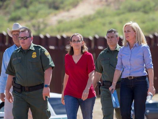 USP NEWS: U.S./MEXICO BORDER FENCE S A OTH USA AZ