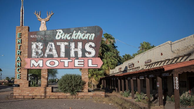 """Buckhorn Baths, once known for being home to """"Arizona's largest wildlife collection,"""" is pictured on Oct. 20, 2017."""
