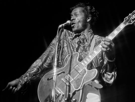 EPA USA CHUCK BERRY OBIT HUM PEOPLE USA NV