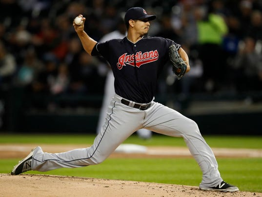USP MLB: CLEVELAND INDIANS AT CHICAGO WHITE SOX S BBA CHW CLE USA IL