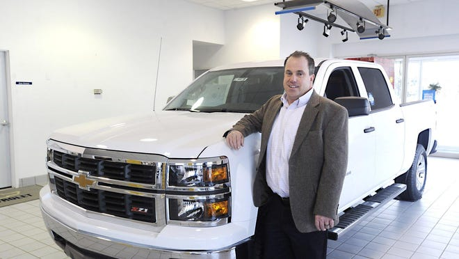 Andy Gabler, then president of Lakeside Chevrolet and Buick, in North East Township, is shown there in 2013. He and his finance manager, Chad Bednarski, pleaded guilty to fraud in U.S. District Court in Erie on Tuesday.