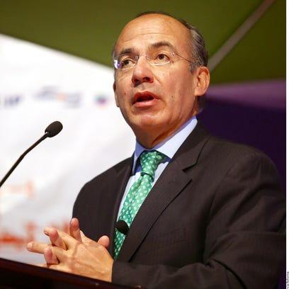 Felipe Calderón, ex presidente de México.
