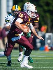 Ryan Jones scored 21 touchdowns rushing and passing