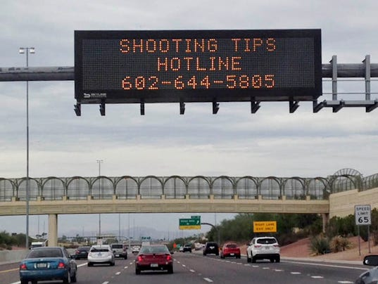 Freeway Shootings Phoenix