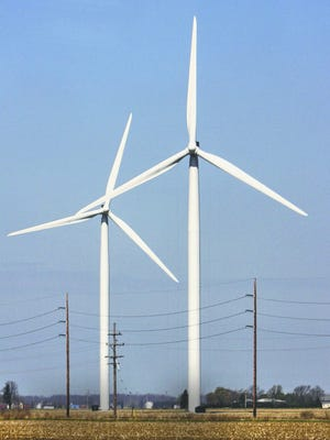 A 40-turbine wind farm proposed for Clinton County appears to have been stopped by the developers