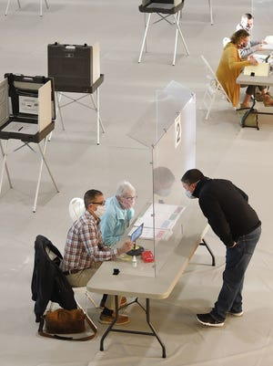 Massachusetts poll workers have been instructed on how to accommodate all voters.
